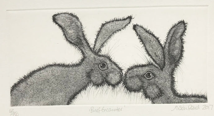 Brief Encounter by Alison Read (Hares)