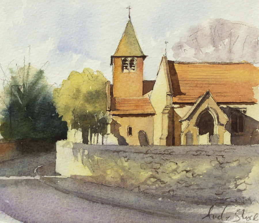 Cadeby Church by Andy Shore
