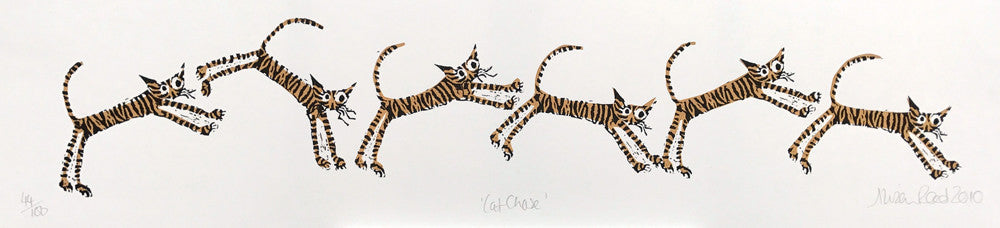 Cat Chase by Alison Read