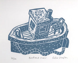 Boat and Chair by Peter Clayton