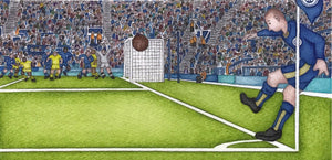 Corner Kick by Paul Hainsworth