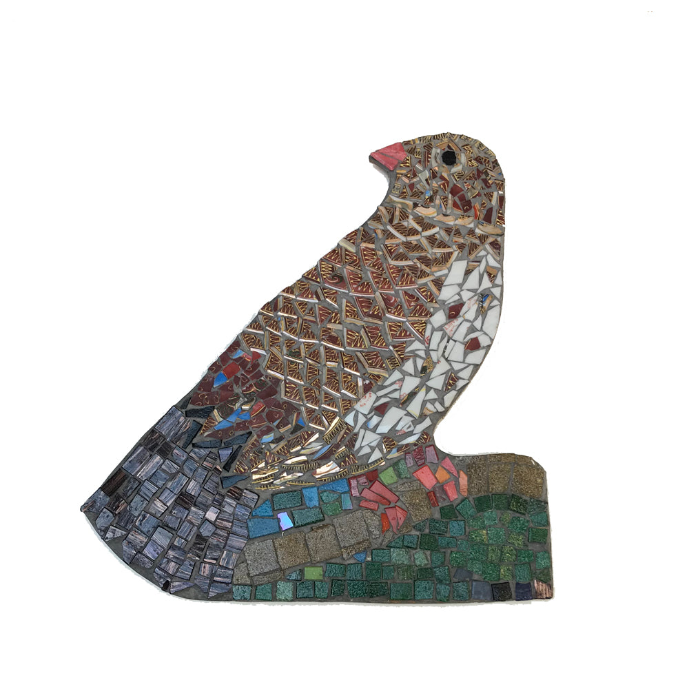 Mosaic Bird 2 by Helen Disley