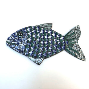 Mosaic Fish by Helen Disley