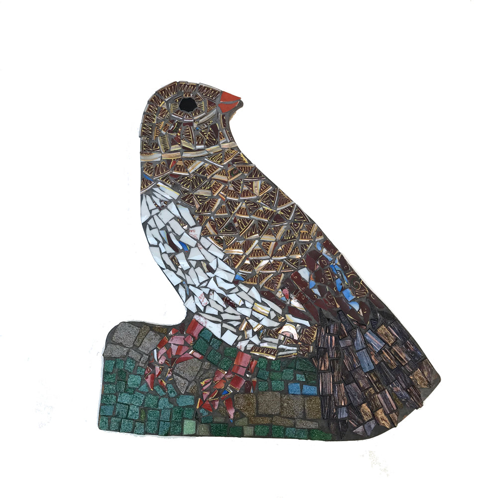 Mosaic Bird 1 by Helen Disley