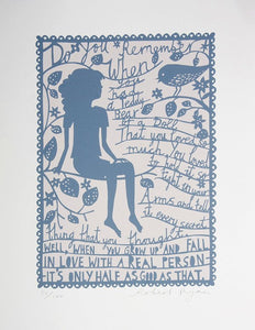 Do You Remember When by Rob Ryan
