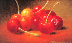 Cherries by Raimondas Dailidavičius