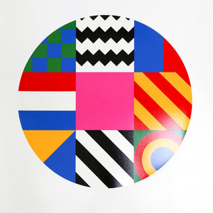 Dazzle Disc by Peter Blake