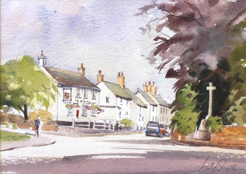The Old Bull's Head, Main Street, Desford by Andy Shore