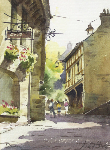 Dinan, Brittany by Andy Shore