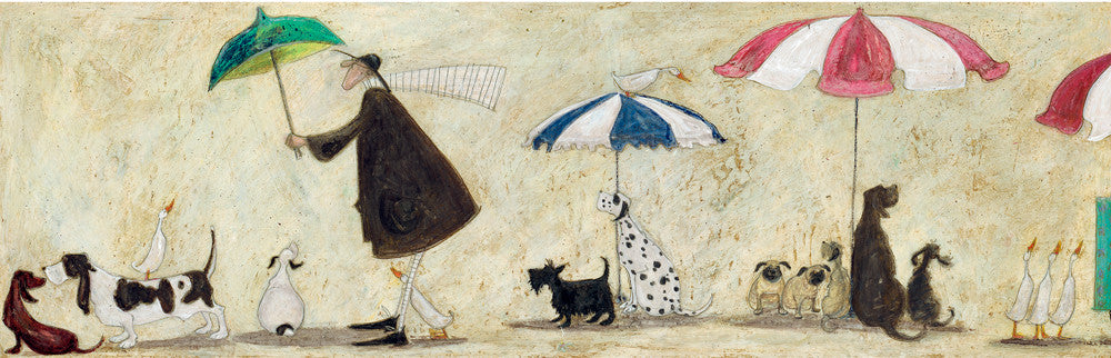 Ducks Mad Dogs and Englishmen by Sam Toft