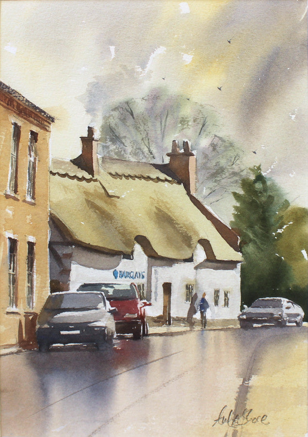 Broad Street, Enderby by Andy Shore