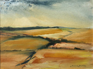 Harvest in Rutland by Joanna Fairley
