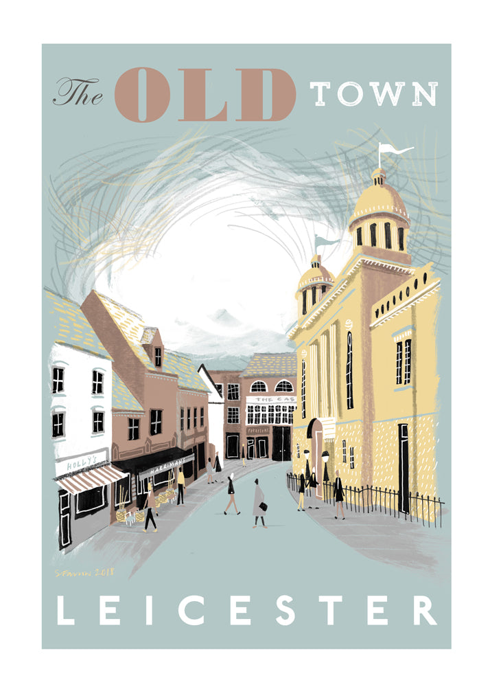 The Old Town, Leicester by Simon Farrow