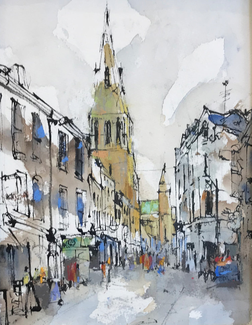 Guildhall Lane by Emma Fitzpatrick