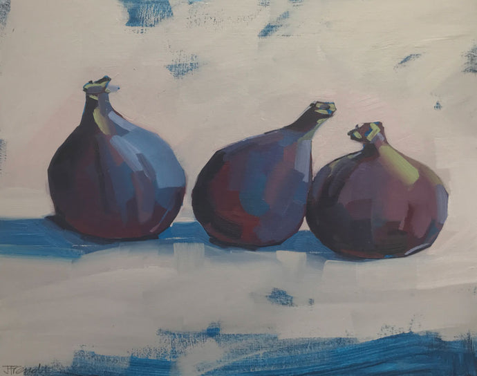 Three Blue Figs by Jane French