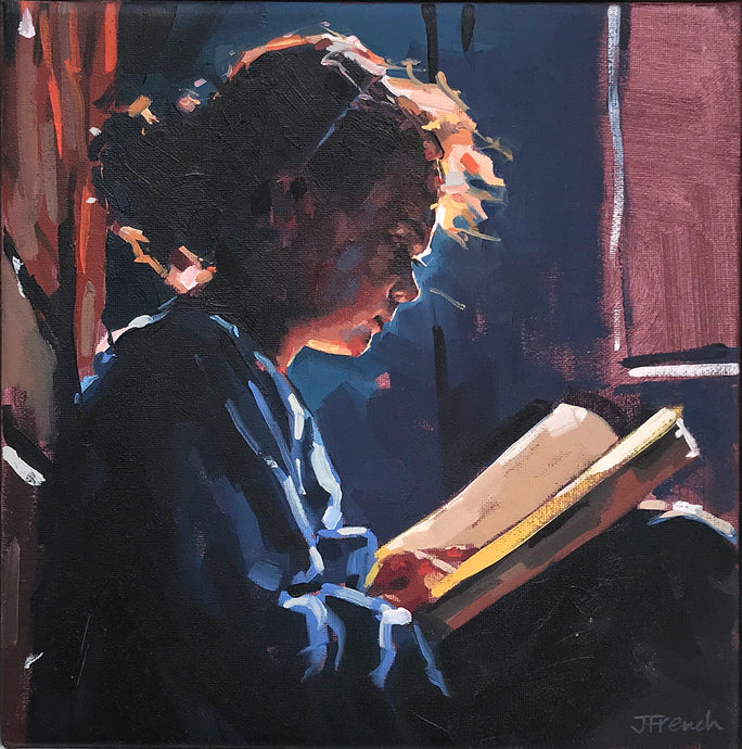 Girl Reading by Jane French