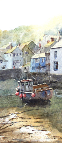 Fishing Boat in Harbour by Andy Shore