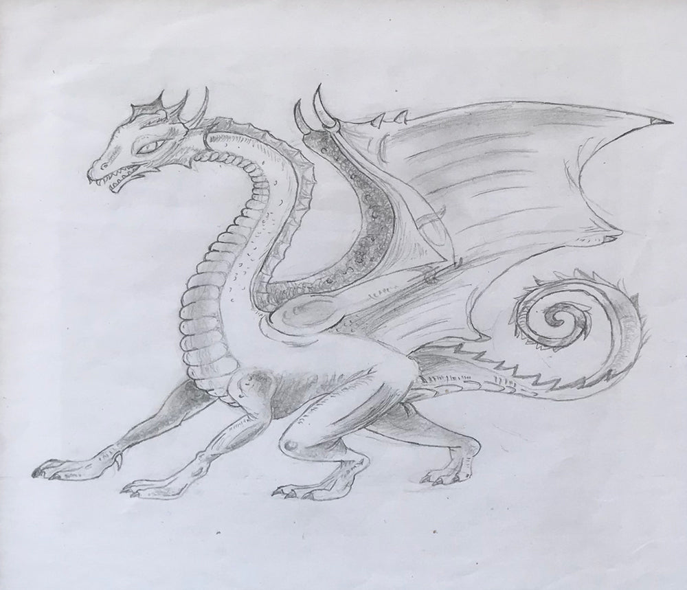 Dragon by Hazel Gibson (Age 10 years)