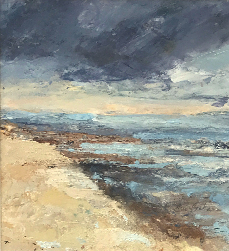 Changing Light Over The Wash (North Norfolk) by Sue Graham