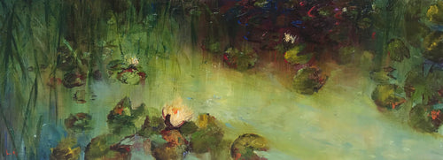 The Lily Pond I by Lesley Griggs