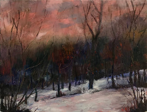 Snow Scene by Lesley Griggs
