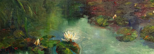 Waterlilies by Lesley Griggs