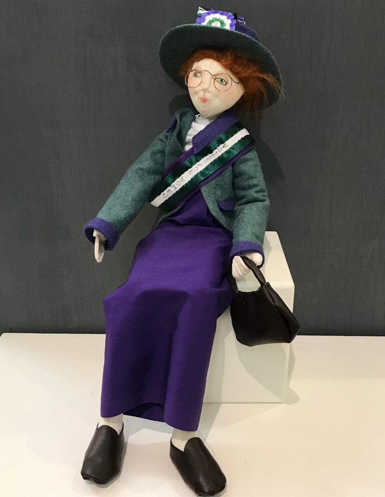 Alice (Suffragette) by Liz Groom