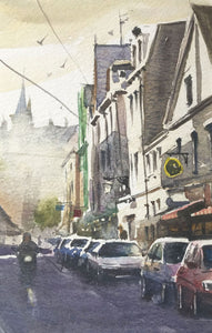 Granville, Brittany by Andy Shore