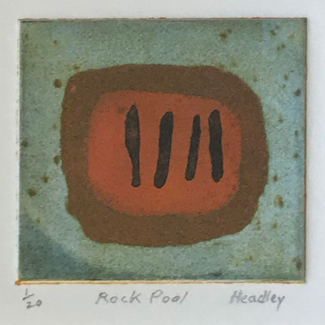 Rock Pool by Catherine Headley