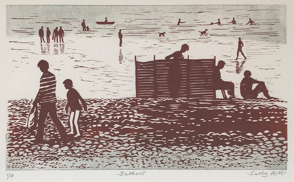 Bathers (TAKEN 03/04/19) by Sally Hill