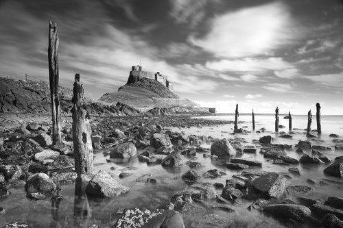 Holy Island by Michael Moralee