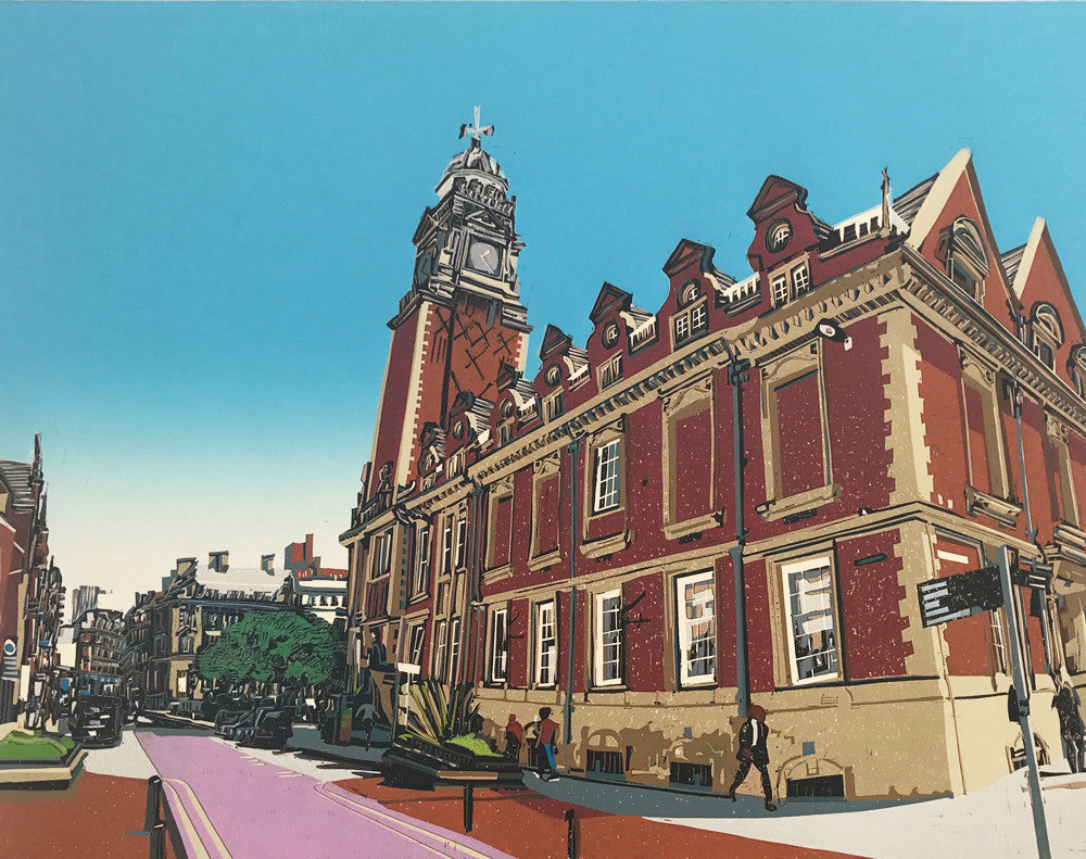 Horsefair and The Town Hall by Kevin Holdaway