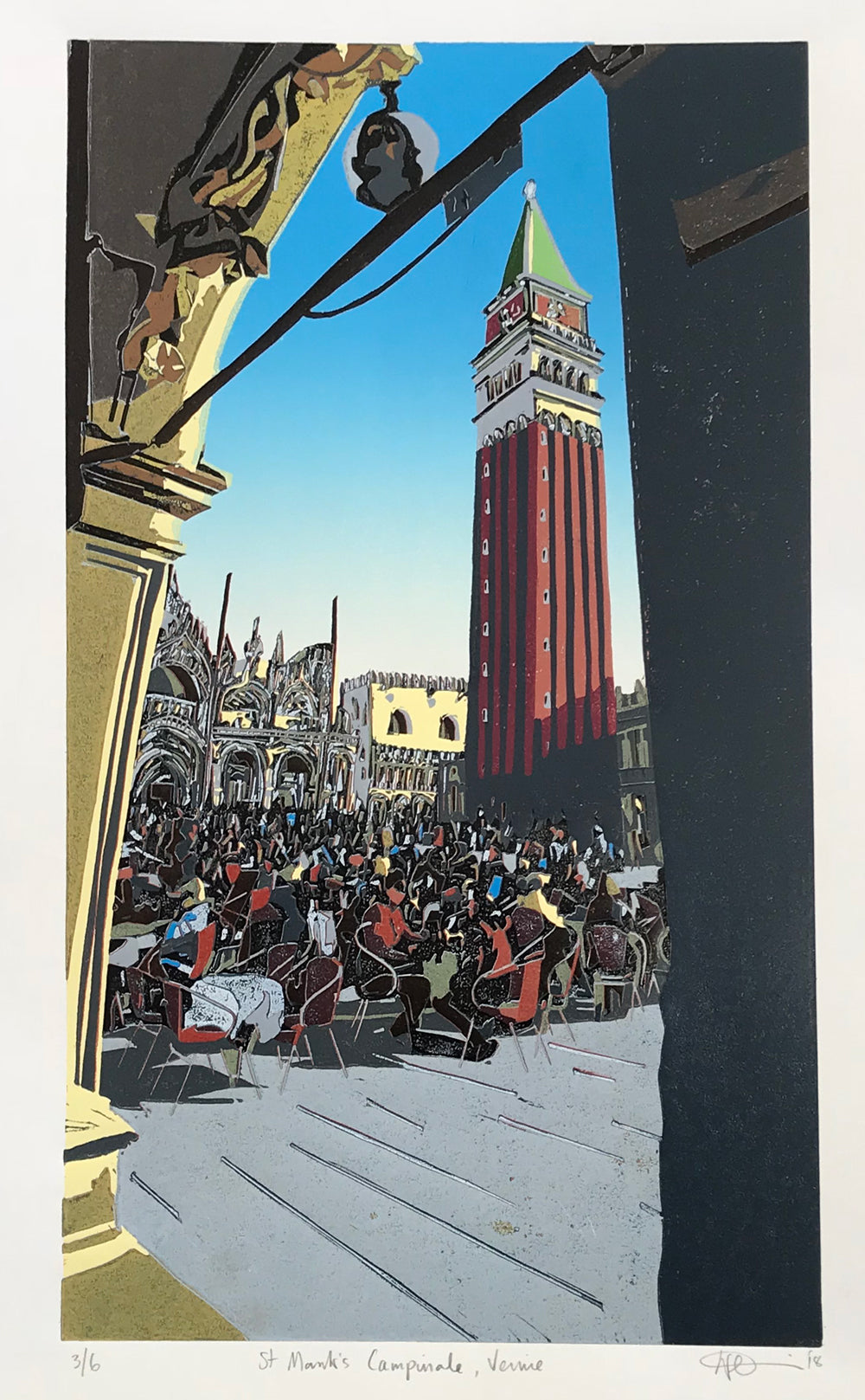 St Mark's Campanile, Venice by Kevin Holdaway