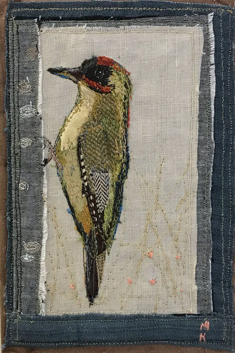 Green Woodpecker (Stoneywell) by Michelle Holmes