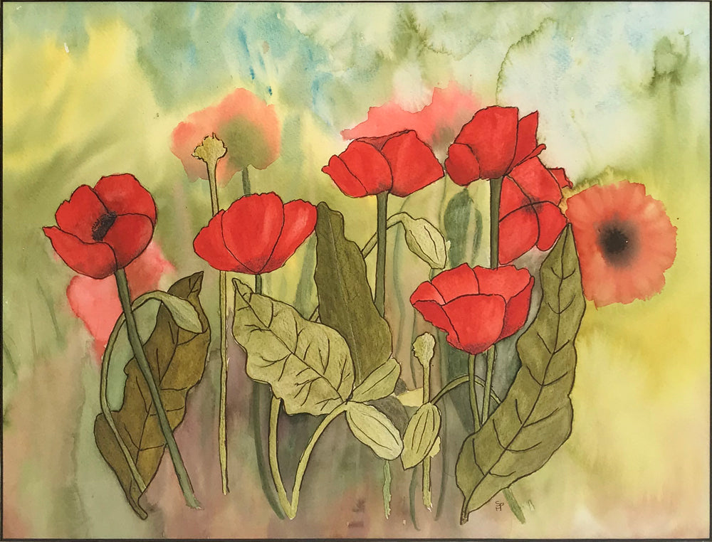 Poppies by Sue Hulatt