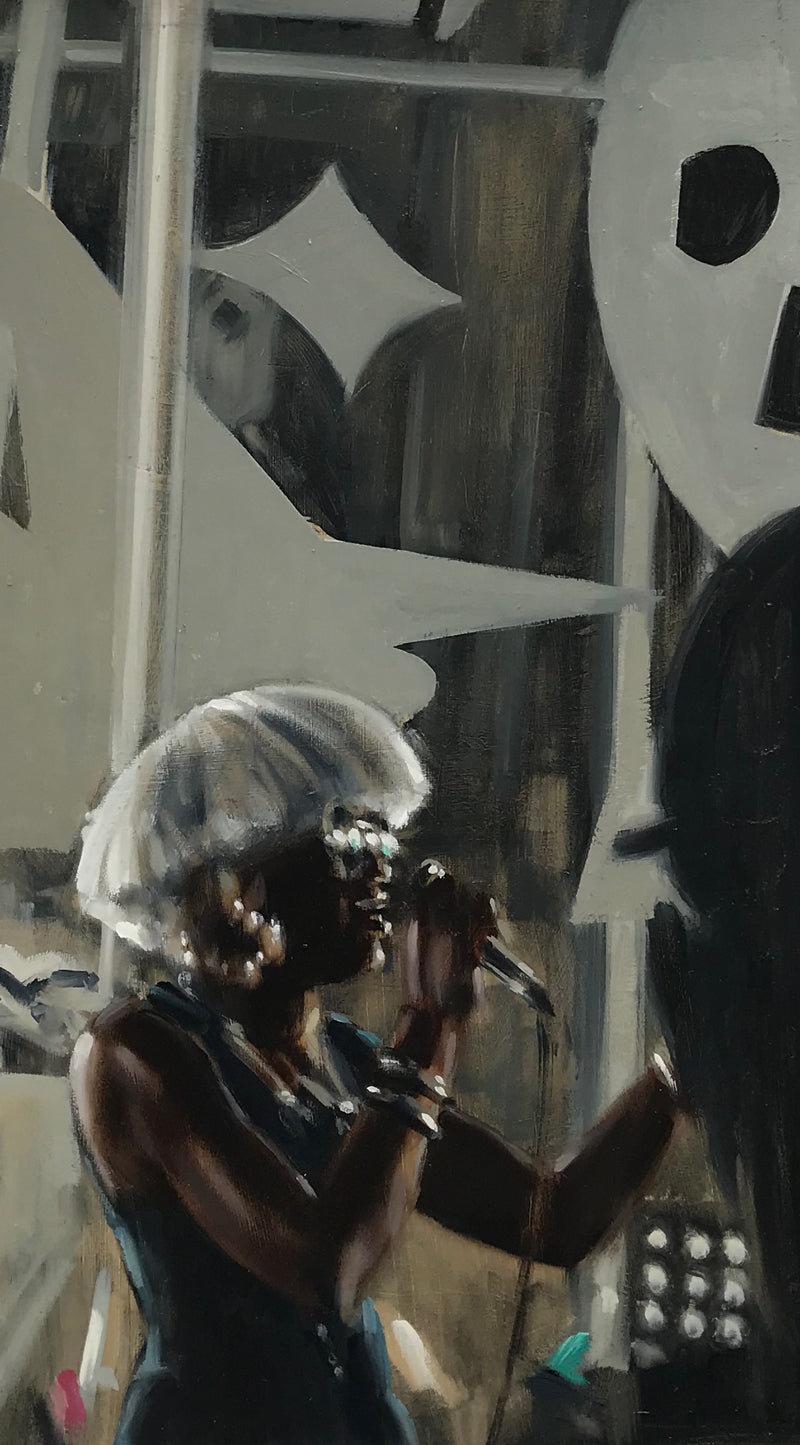 Atlanta, Jazz Singer by Harry Hamill