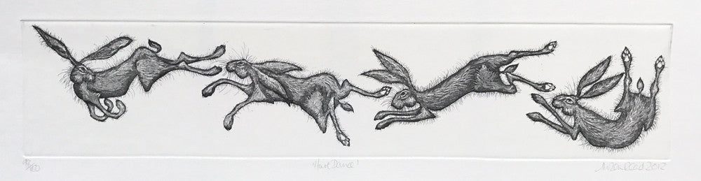 Hare Dance by Alison Read
