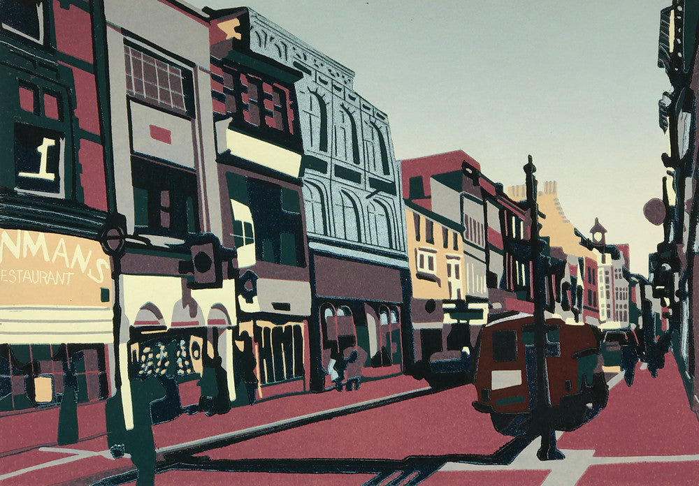 Market Street, Leicester by Kevin Holdaway