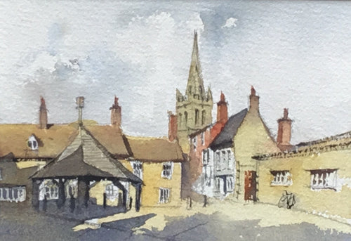 The Old Buttercross, Oakham by Andy Shore