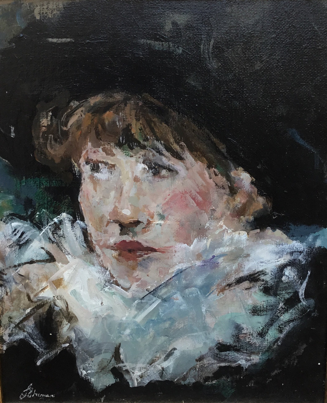 A Little Piece of Manet by Linda Sharman