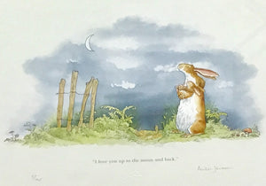 I love you Up to the Moon and Back by Anita Jeram