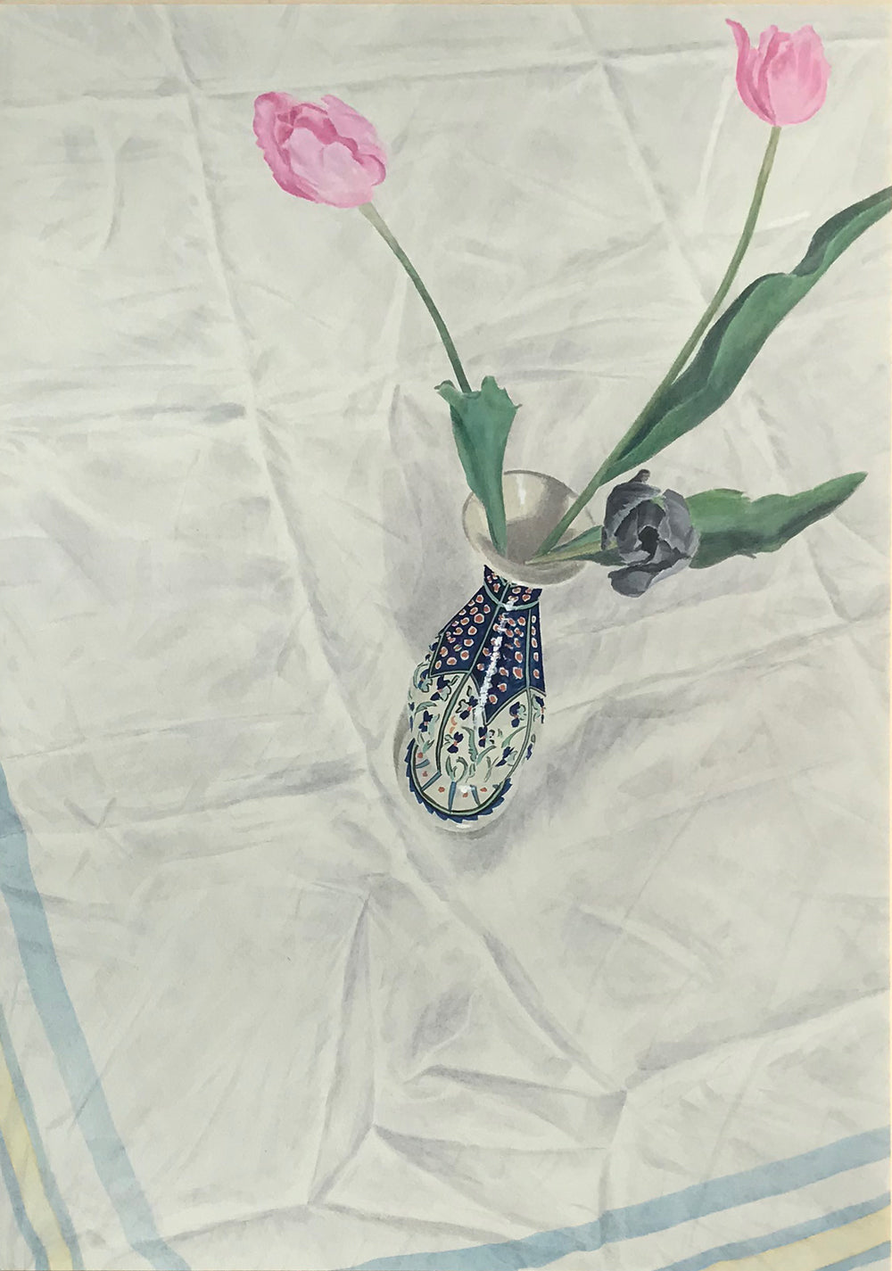 Tablecloth and Tulips by Andrew Jackson