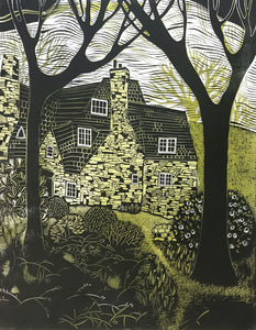 Stoneywell (From the Woods) II by Sarah Kirby
