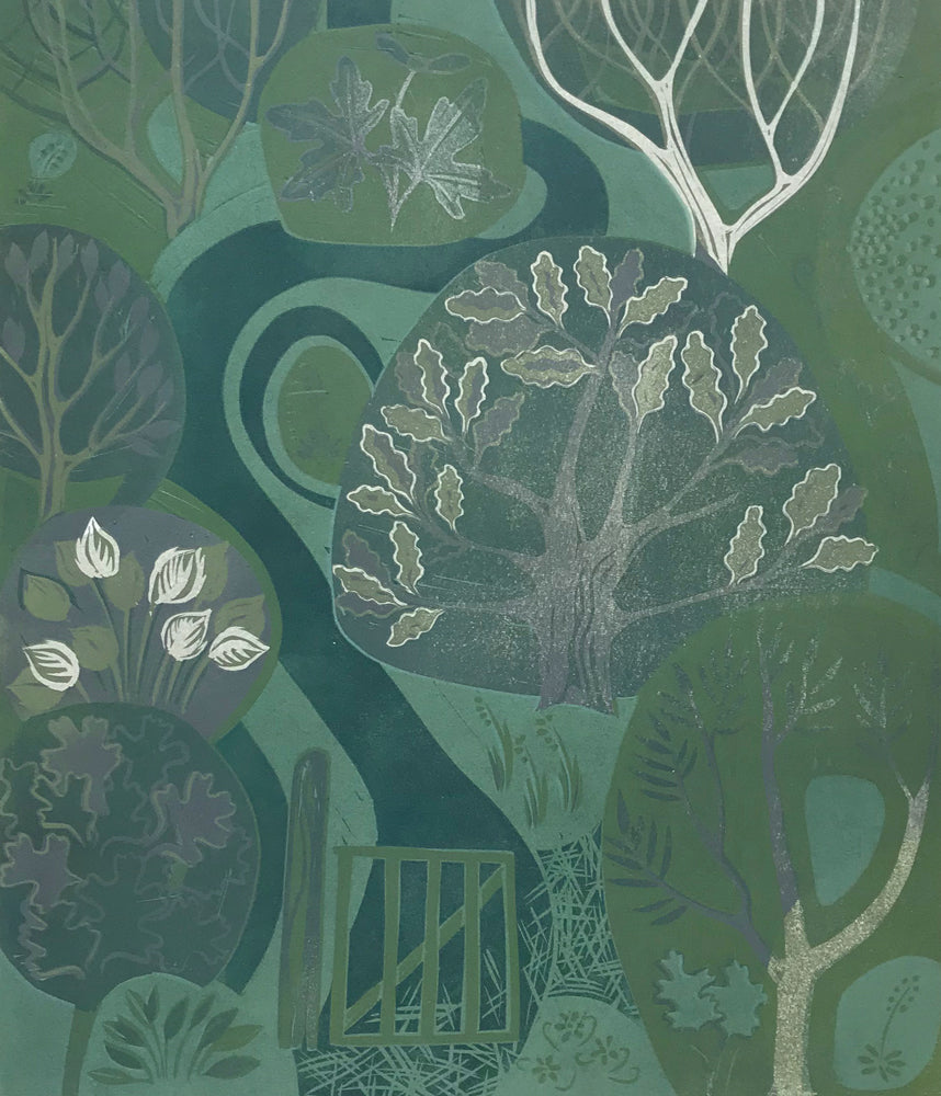 Launde Big Wood II by Sarah Kirby