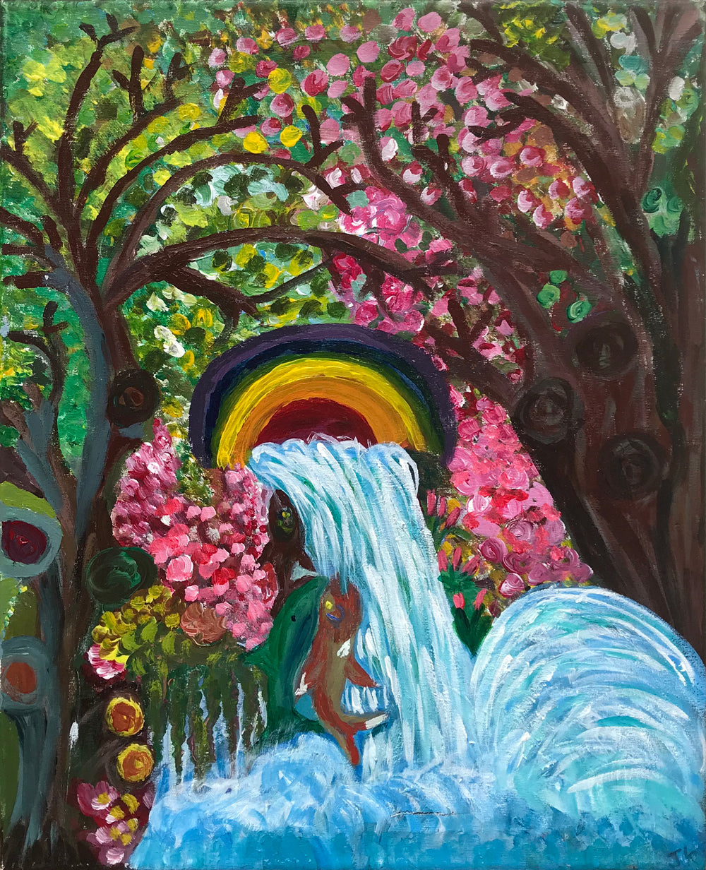 Waterfall by Jane Knight