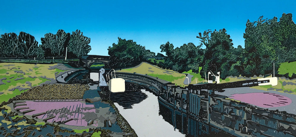 Kegworth Shallow Flood Locks by Kevin Holdaway