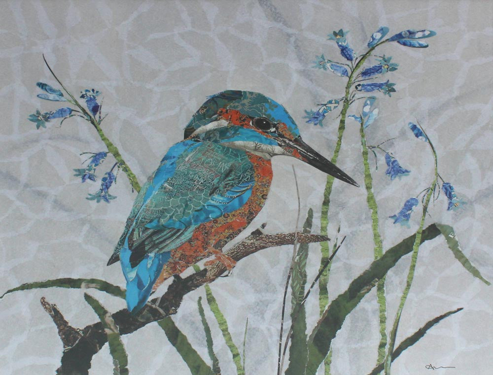 Kingfisher by Louise Wood