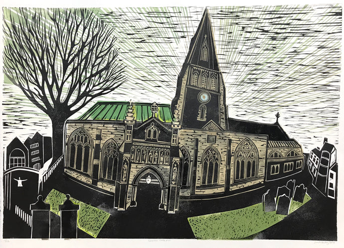 Leicester Cathedral by Sarah Kirby