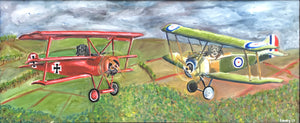 The Hairy Flyers of World War I by Paul Lane