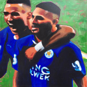 Leicester City Duo by Paul Barrand
